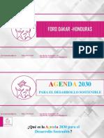 Presentación 1. Agenda 2030 y ODS