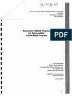 2.Reproductive Health Programs for Young Adults; School-based Programs (BOOK)