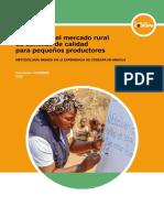Desarrollo Mercado Rural Semillas Calidad Productores Pobres
