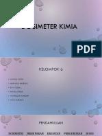 Dosimeter Kimia