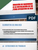 Red Sistema Operativo