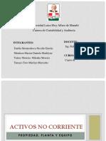 4 B- Grupo # 1 - Propiedad,Planta y Equipo