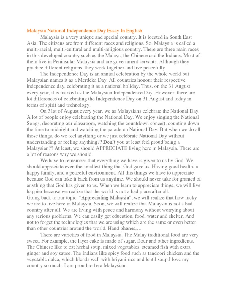 malaysia national independence day essay in english  strait of  malaysia national independence day essay in english  strait of malacca   malaysia