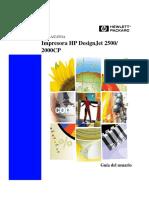 Manual Hp 2500 Cp