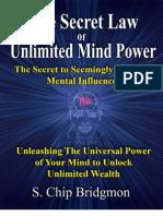 16501151 Secret Law of Unlimited Mind Power 2