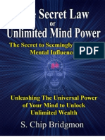 16501151 Secret Law of Unlimited Mind Power 2