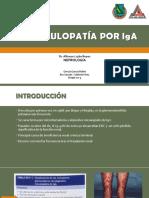Glomerulonefritis Por IgA