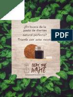Beatthewaste Pasta de Dientes Natural Perfecta