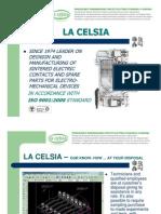 Presentazione La Celsia Contatti Elettrici Sinterizzati