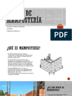 Muros de Mamposteria