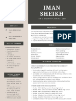 ism resume