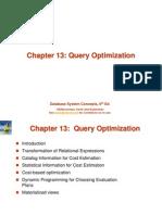 Query Optimization
