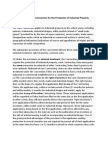 Summary of the Paris Convention for the Protection of Industrial Property.docx