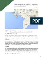 Tìm Hiểu Vấn Đề Biển Đảo Giữa Việt Nam Và Campuchia - Trần Công Trục