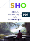 Osho - De La Medicatie La Meditatie Google Cărți