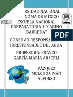 Consumo responsable o irresponsable del agua.docx
