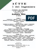 Manual Del Ingeniero Hutte-Tomo I