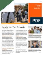 Document Newsletter