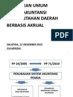 Slide Sistem Akuntansi Akrual & Pelaksanaan Reviu Lkpd