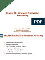 Advanced Transaction Processing