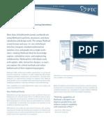 Mathcad14 Datasheet
