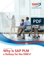 Why is SAP PLM a fantasy for the SME's?