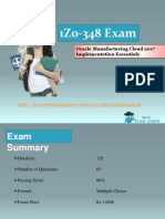 1Z0-348 Exam Dumps |Download Actual ORACLE 1Z0-348 Exam Study Material - Realexamdumps