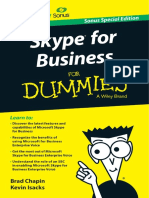 Dummies Book Skype for Dummies