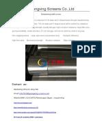 Dewatering Well Screen.pdf
