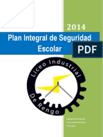 Plan Integral de Seguridad Escolar