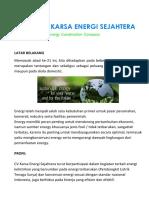 Profil CV Karsa Energi Sejahtera