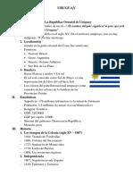 Uruguay - Cultura
