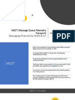 MQTT (Message Queue Telemetry Transport)