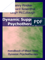 Dynamic Supportive Psyichotherapy