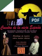 2015 Cuentos Monologo, Cartel