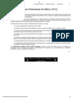 Ordenanzas de Alfaro 1612