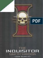 The Inquisitor Sketch Book John Blanche