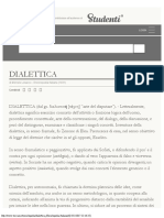 DIALETTICA in _Enciclopedia Italiana