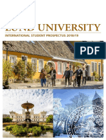 International Student Prospectus 201819 Lund University