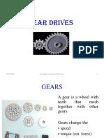 Gear Drives