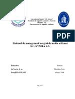 P.M. Sistemul de Management Integrat de Mediu