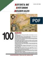 Andalucía en la división territorial del trabajo