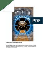 El Kybalion Cuantico Por Rocio Aguilar Zamarripa