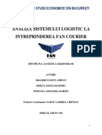 Analiza sistemului logistica FAN Courier