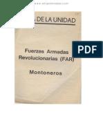 1973 Acta Unidad FAR M