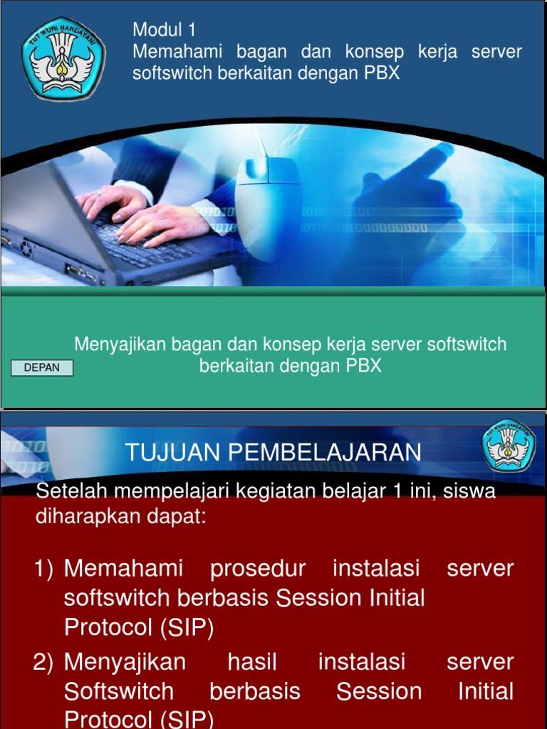 Konsep Kerja Server Softswitch Berkaitan Dengan Pbx - Info ...