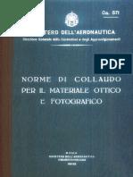 Norme collaudo materiale ottico e fotografico (CA571) 1941.pdf