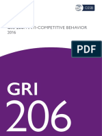 Gri 206 Anti Competitive Behavior 2016
