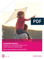 Raport de Sustenabilitate 2016 Telekom