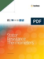 Stator Resistance Temperature Detector (RTD) - Catalog